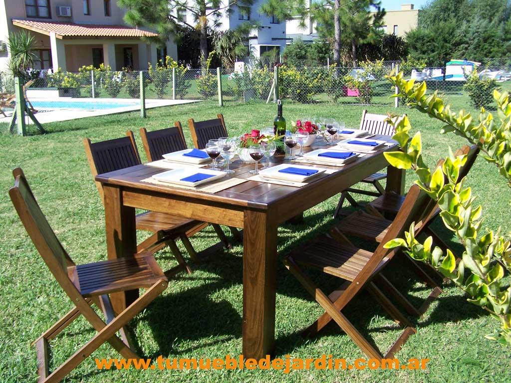 Muebles de jardin en villa brown for Muebles baratos zona sur